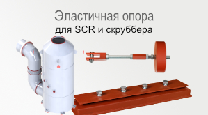 SCR and scrubber components